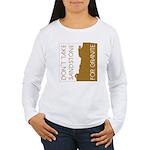 Sandstone for Granite Women's Long Sleeve T-Shirt