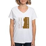 Sandstone for Granite Women's V-Neck T-Shirt