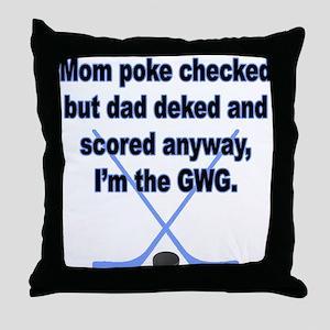 GWG Boys Throw Pillow
