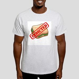 Indicted Ham Sandwich Ash Grey T-Shirt