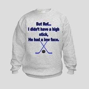 But Ref... Kids Sweatshirt