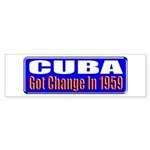Change 1959 Bumper Sticker (50 pk)