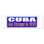 Change 1959 Bumper Sticker (10 pk)
