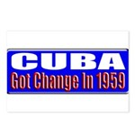Change 1959 Postcards (Package of 8)