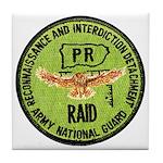 Army National Guard RAID Tile Coaster