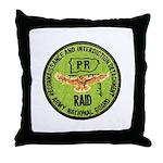 Army National Guard RAID Throw Pillow