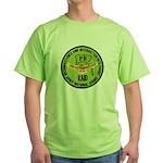 Army National Guard RAID Green T-Shirt