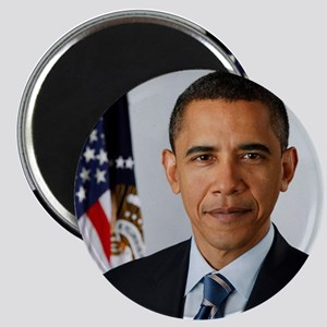 President Obama Portrait Magnet
