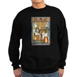 Osiris,Pharoah,Horus Sweatshirt (dark)