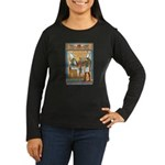 Osiris,Pharoah,Horus Women's Long Sleeve Dark T-Sh