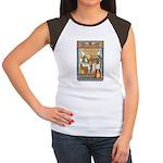 Osiris,Pharoah,Horus Women's Cap Sleeve T-Shirt