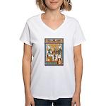 Osiris,Pharoah,Horus Women's V-Neck T-Shirt