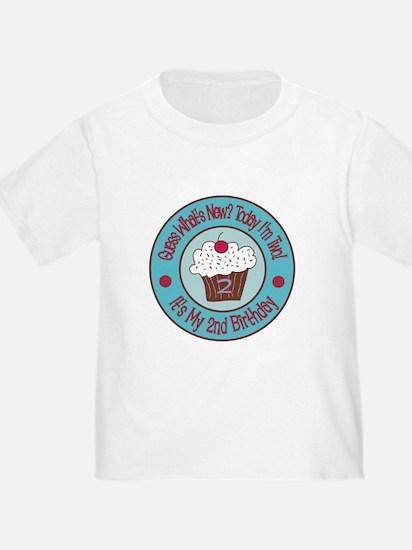 Second Birthday Cupcake T