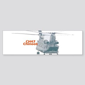 Chinook Helicopter Bumper Sticker