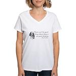 Good Drinking Women's V-Neck T-Shirt