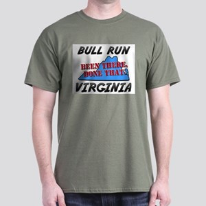 bull run virginia - been there, done that Dark T-S