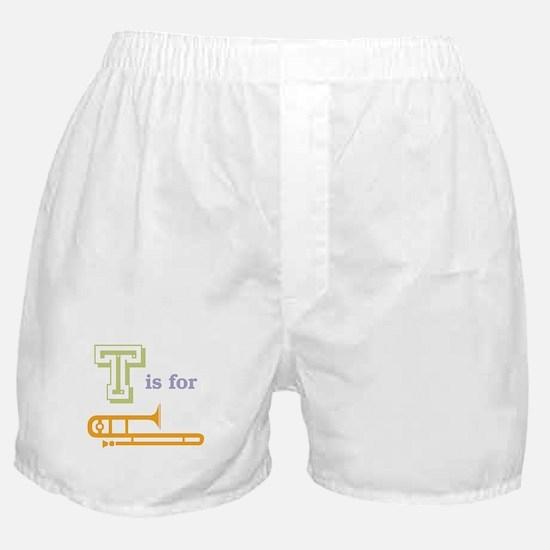 Tis for Trombone Boxer Shorts
