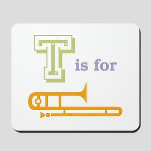 Tis for Trombone Mousepad