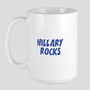 HILLARY ROCKS Large Mug