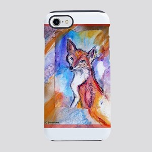 Fox, wildlife art! iPhone 7 Tough Case