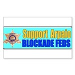 Sheriff Joe Rectangle Sticker 50 pk)