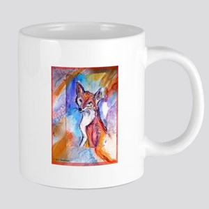 Fox, wildlife art! 20 oz Ceramic Mega Mug