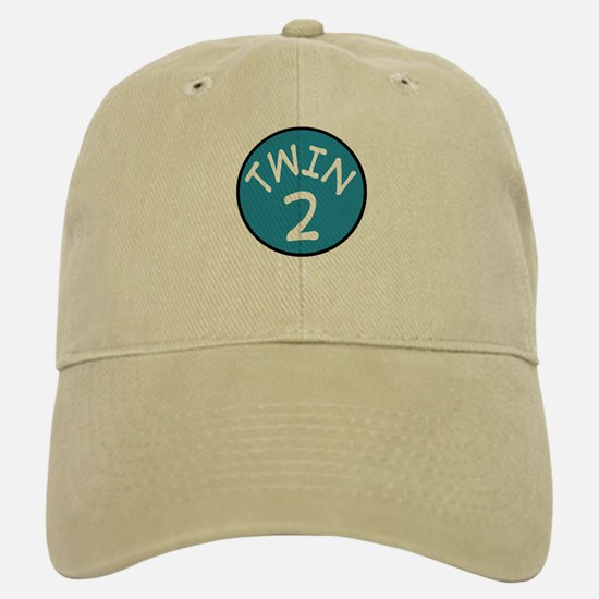 Twin 2 Baseball Baseball Cap