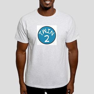 Twin 2 Ash Grey T-Shirt