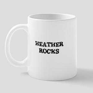 HEATHER ROCKS Mug