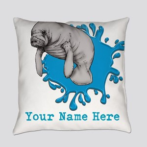 Mantee Art Everyday Pillow