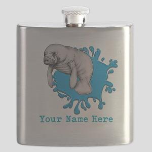 Mantee Art Flask
