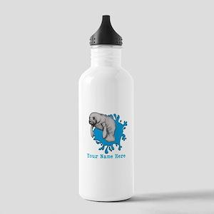 Mantee Art Water Bottle