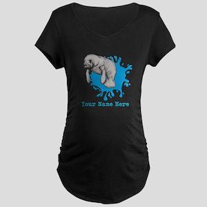 Mantee Art Maternity T-Shirt