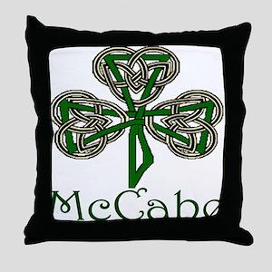 McCabe Shamrock Throw Pillow