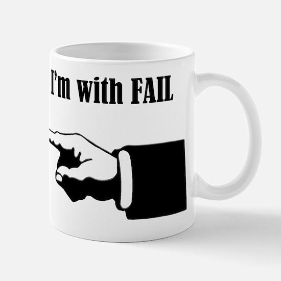 Leftie Fail Mug