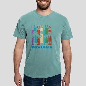 Retro Vero Beach Florida Palm Tree Souveni T-Shirt