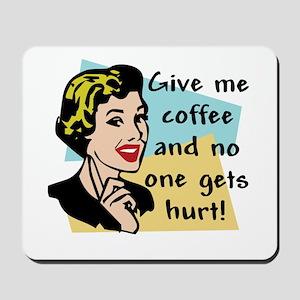 Coffee Freak Mousepad