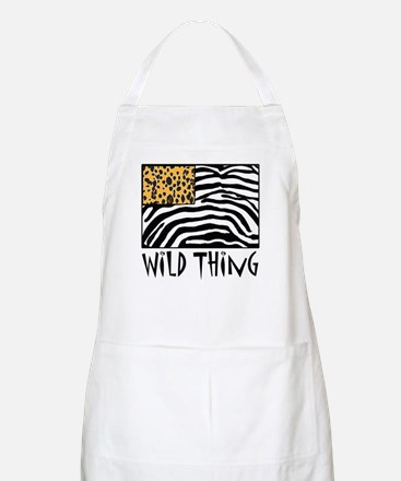 Cheetah & Zebra Wild Thing Apron