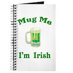 Mug Me I'm Irish Journal