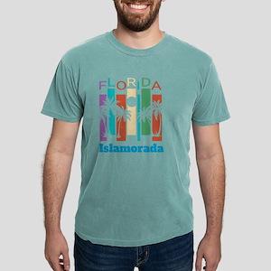 Retro Islamorada Florida Palm Tree Souveni T-Shirt