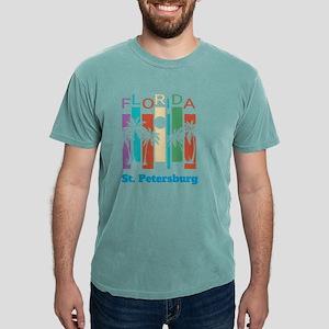Retro St. Petersburg Florida Palm Tree Sou T-Shirt