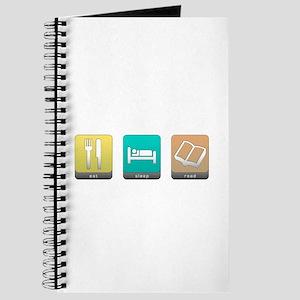 Eat, Sleep, Read Journal