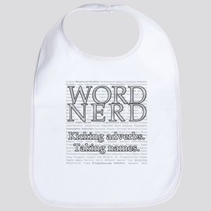 Word Nerd Bib