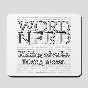 Word Nerd Mousepad