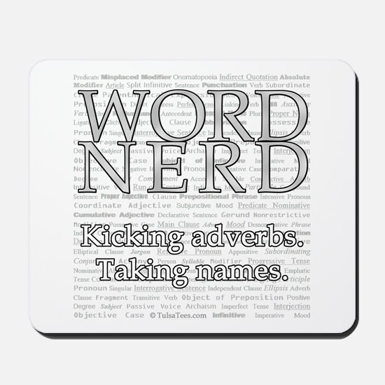Word Nerd Mousepad