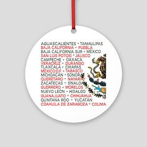 Mexico Lindo Ornament (Round)