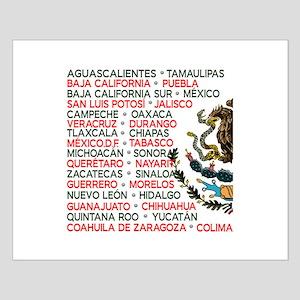 Mexico Lindo Small Poster