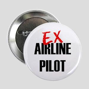 """Ex Airline Pilot 2.25"""" Button"""
