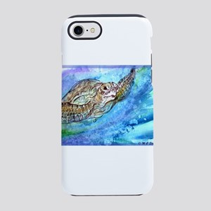 Sea Turtle, Wildlife art! iPhone 7 Tough Case