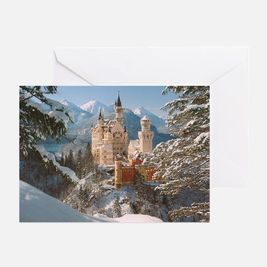 Neuschwanstein Castle Greeting Cards (Pk of 10)